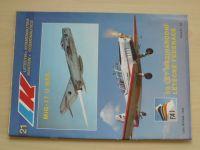 Letectví a kosmonautika 21 (1995) ročník LXXI.