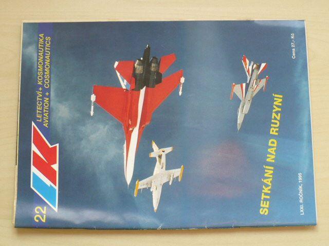 Letectví a kosmonautika 22 (1995) ročník LXXI.