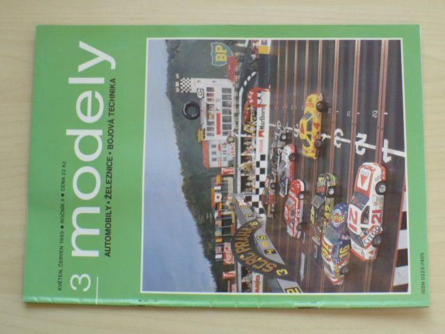 Modely 1-6 (1995) ročník II. (chybí čísla 1-2, 4 čísla)