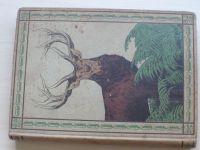 Ferdinand von Raesreld - Das Rotwild (Berlin 1899) Jelen, německy