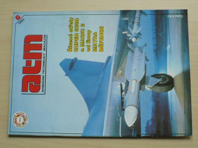 ATM - Armádní technický magazín 6 (1993) ročník XXV.