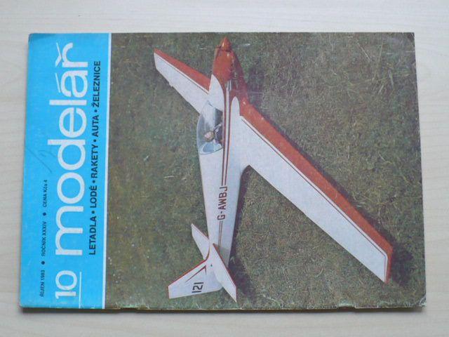 Modelář 10 (1983) ročník XXXIV.