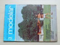 Modelář 3 (1982) ročník XXXIII.
