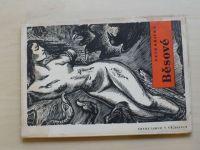Petr Křička - Běsové (1947) dřevoryty K. Štěcha