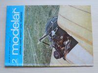 Modelář 1-12 (1986) ročník XXXVII. (chybí čísla 1, 9-11, 8 čísel)
