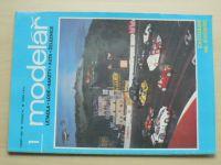 Modelář 1-12 (1989) ročník XXXL. (chybí číslo 11, 11 čísel) + příloha (1989)