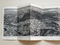 Špindlerův Mlýn - Krkonoše (1947) panoramatická fotografie - mapa