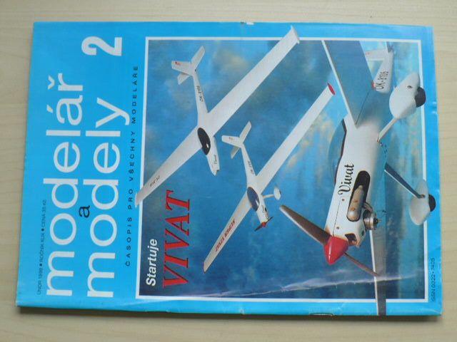 Modelář a modely 2 (1998) ročník XLIX.