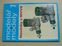 Modelář a modely 7 (1997) ročník XLVIII.