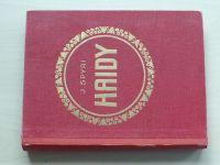 Spyri - Haidy I. a II. díl (nedatováno) 1 svazek