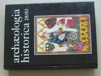 Archaeologia historica 28/03 - ed, Nekuda