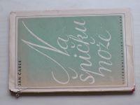 Čarek - Na špičku nože (1943) il. Mrkvička