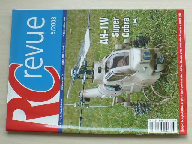 RC revue 1-12 (2008) ročník IX. (chybí čísla 1-4, 8 čísel)