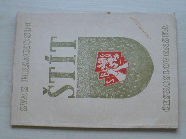 Štít - Almanach Svazu brannosti - s hospodářsko-propagační přílohou země Moravskoslezské