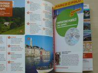 Chorvatské pobřeží, Istrie, Kvarner se skládací mapou a Cestovním atlasem - Marco Polo 2014