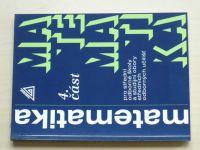 Petránek, Calda, Hebák - Matematika pro SOŠ a studijní obory SOU 4. část (2011)