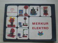 Merkur Elektro - Kniha předloh pro elektrostavebnici č. 101