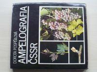 Pospíšilová - Ampelografia ČSSR (1981) slovensky - Odrůdy vína a jejich pěstování