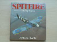 Jeremy Flack - Spitfire - A Living Legend (Osprey 1985) anglicky