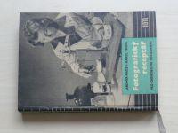 Macek, Paspa - Fotografický receptář pro černobílou fotografii (1958)