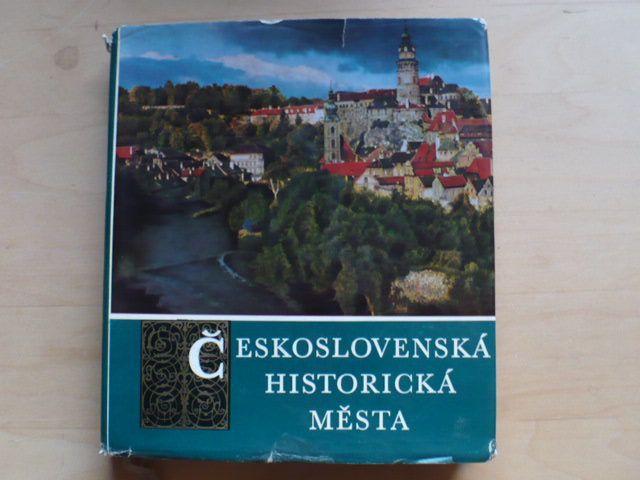 Dostál, Hrůza - Československá historická města (1974)