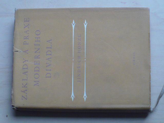 Honzl - Základy a praxe moderního divadla (1963)