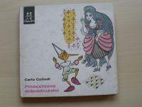 Collodi - Pinocchiova dobrodružství (1976) il. Zmatlíková