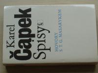 Karel Čapek - Spisy - Hovory s T. G. Masarykem (1990)