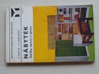 David - Nábytek - Údržba, opravy a úpravy (1977)