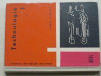 Kubeš, Vašíček - Technologie I. - Učebnice pro 1. roč prům. skol strojírenských (1961)
