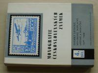 Monografie československých známek 4. díl - známky letecké, novinové, doplatní... (1986)