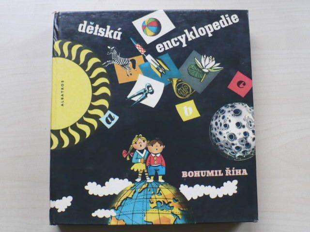 Říha - Dětská encyklopedie (Albatros 1971) il. Vladimír Fuka