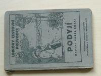 Zobal - Podyjí - Uhrovy cestovní průvodce (1927)