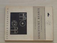Dr. Okáč - Analytické reakce - I. Reakce kationtů (1942)