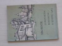 Sborník lukovským rodákům k sjezdu 1965 -  Luká, Litovelsko