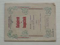 Stoklas - Kašpárek a loupežník (1928)