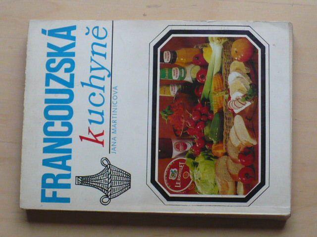 Martinicová - Francouzská kuchyně (1972)