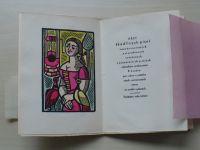 Hrst škádlivých písní vesměs neznámých a starodávných (1951) vyobrazení L. Landra, 52/100