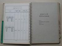 Prozatímní válcovací program - předvalků, široké oceli... Hutní prodejna n.p. 1949