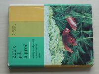 Zukal, Sadílek - 222x jak a proč - Otázky a odpovědi z akvaristické praxe (1967)