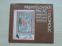 Přemyslovský palác - Národní kulturní památka v Olomouci (1988)