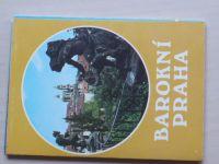 Barokní Praha - Soubor 12 pohlednic