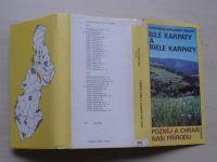 CHKO Bílé Karpaty - Bile Karpaty - lokality výskytu rostlin (1989)
