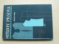 Vrba - Střihy prádla - Konstrukce a stupňování (1990)