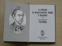 Josef Richard Vilímek - Z Prahy k Baltickému moři v balonu (1998) dle vydání z r.1891, il. Lhoták