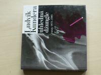 Kundera - Úhledná džungle - texty 1973-1993 (1995)