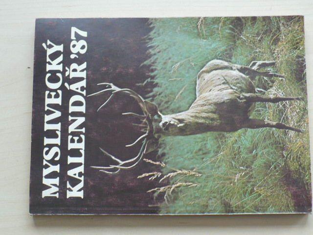 Myslivecký kalendář 1987