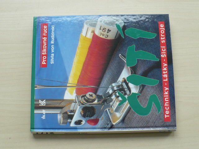Rudzinski - Šití - Techniky, látky, šicí stroje (1994)