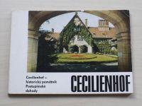Herbrig - Cecilienhof - historický památník Postupimské dohody (1967)
