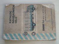 Katalog náhradních dílů - Škoda 706 MTC 5, MTV 5, MT 5, MTX 5, MTC 5 LUX (1974)